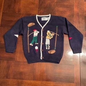 Kids Kitestrings Golf Sweater